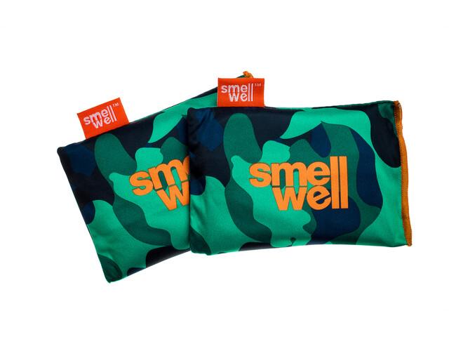 SmellWell Active Insertos Ambientadores para Zapatos & Equipamiento, camo green